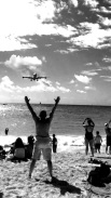 Thrills on Maho Beach, SXM